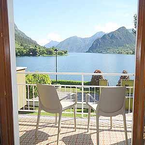 Bild zeigt die Villa Soghetto am Idrosee
