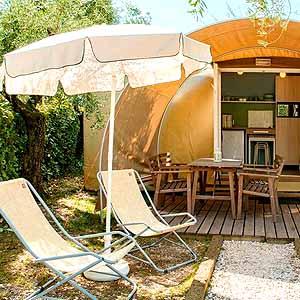 Bild zeigt einen Campingplatz